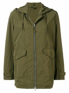 Aspesi hooded parka jacket - Green