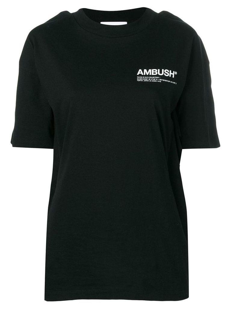 AMBUSH Fin logo T-shirt - Black