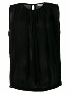 L'Autre Chose sheer top - Black