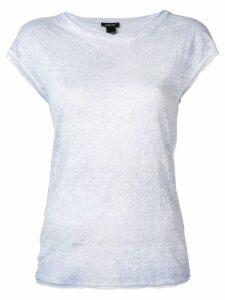 Avant Toi round neck T-shirt - Blue
