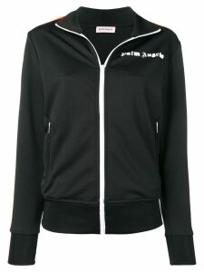 Palm Angels jersey track jacket - Black