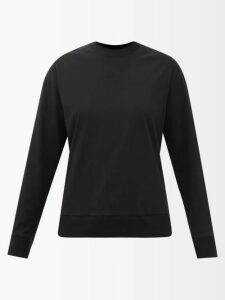 Ashish - Sequinned Gathered Balloon Sleeve Top - Womens - White