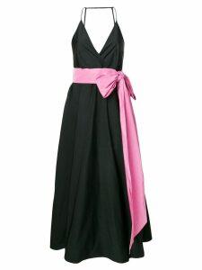 Nº21 open back midi dress - Black