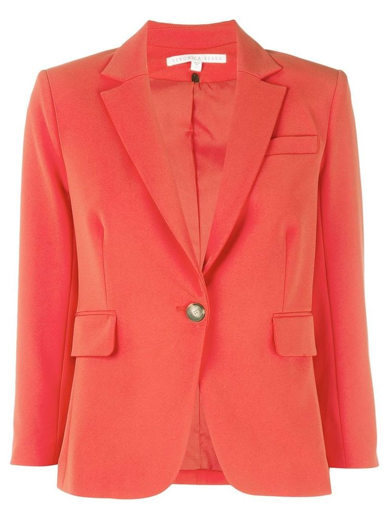 Veronica Beard 3/4 sleeve blazer - Red