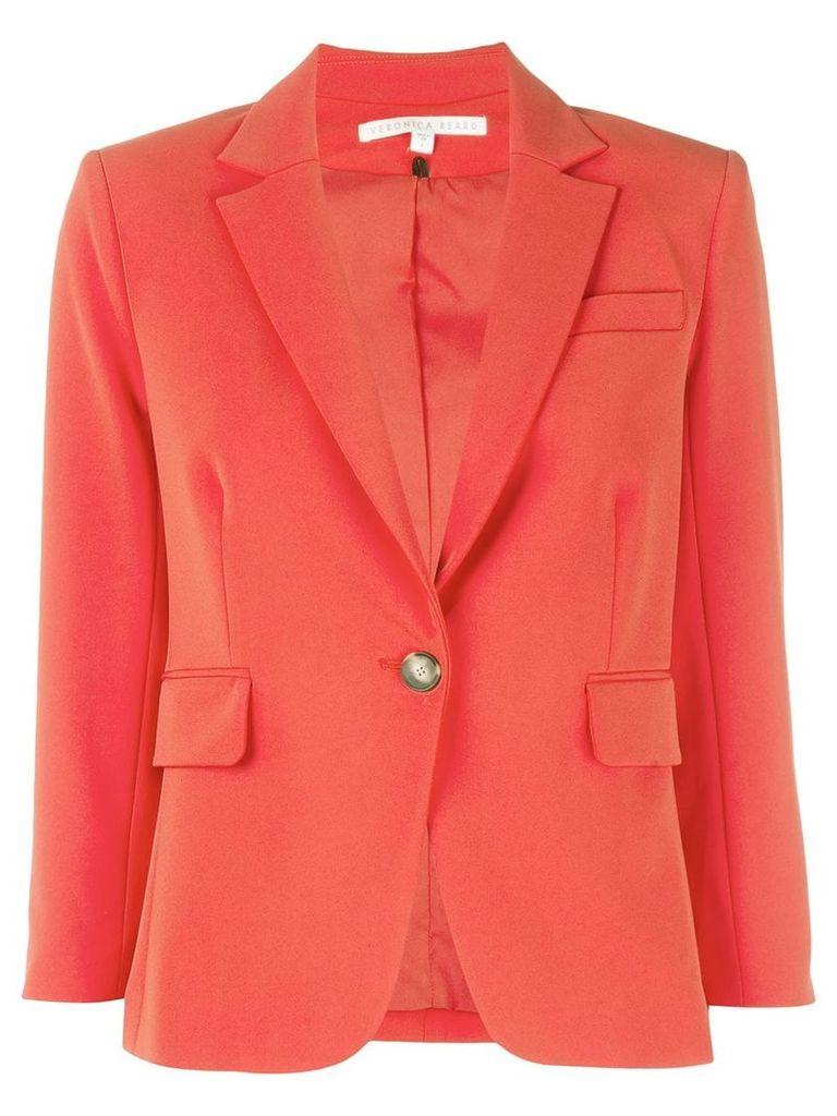 Veronica Beard 3/4 sleeve blazer - Red