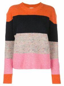 A.L.C. horizontal striped jumper - Orange