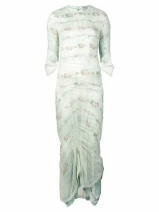 Preen By Thornton Bregazzi long cocktail dress - Green