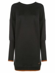Victoria Victoria Beckham v-back dress - Black