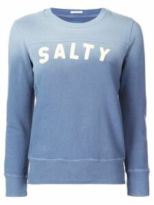 Mother Salty embroidered jumper - Blue