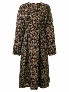 08Sircus floral jacquard midi dress - Multicolour