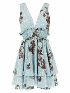 Clube Bossa Freda silk dress - Blue