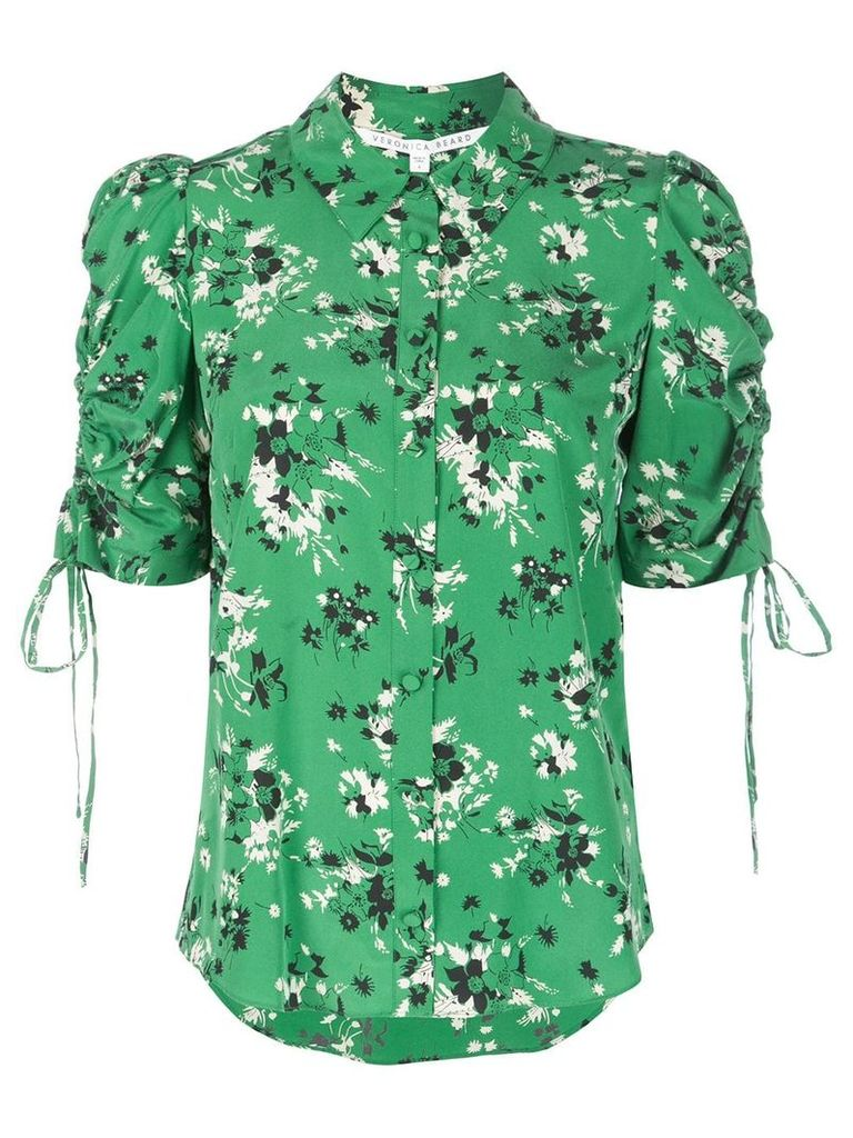 Veronica Beard floral print shirt - Green