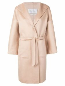 Max Mara wrap front coat - Neutrals