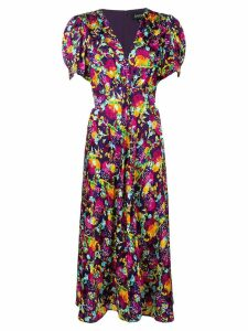 Saloni Lea dress - PURPLE