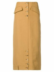 Rejina Pyo straight midi skirt - Brown