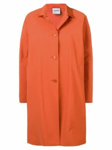 Aspesi single-breasted coat - Orange
