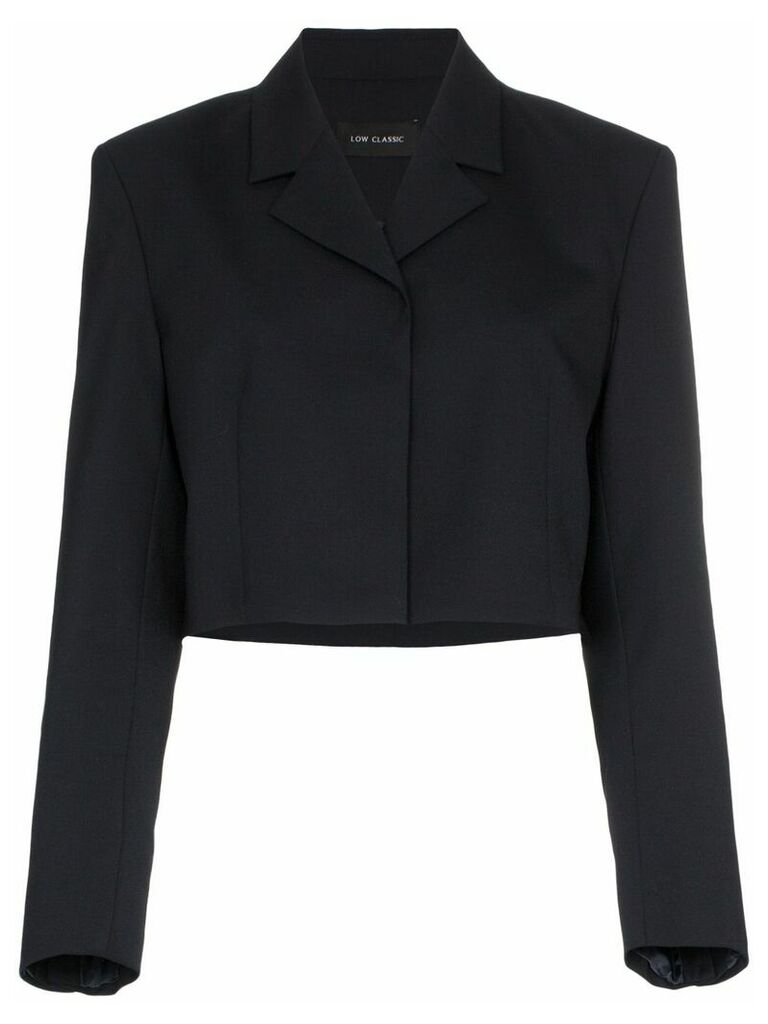 Low Classic Cropped blazer - Blue