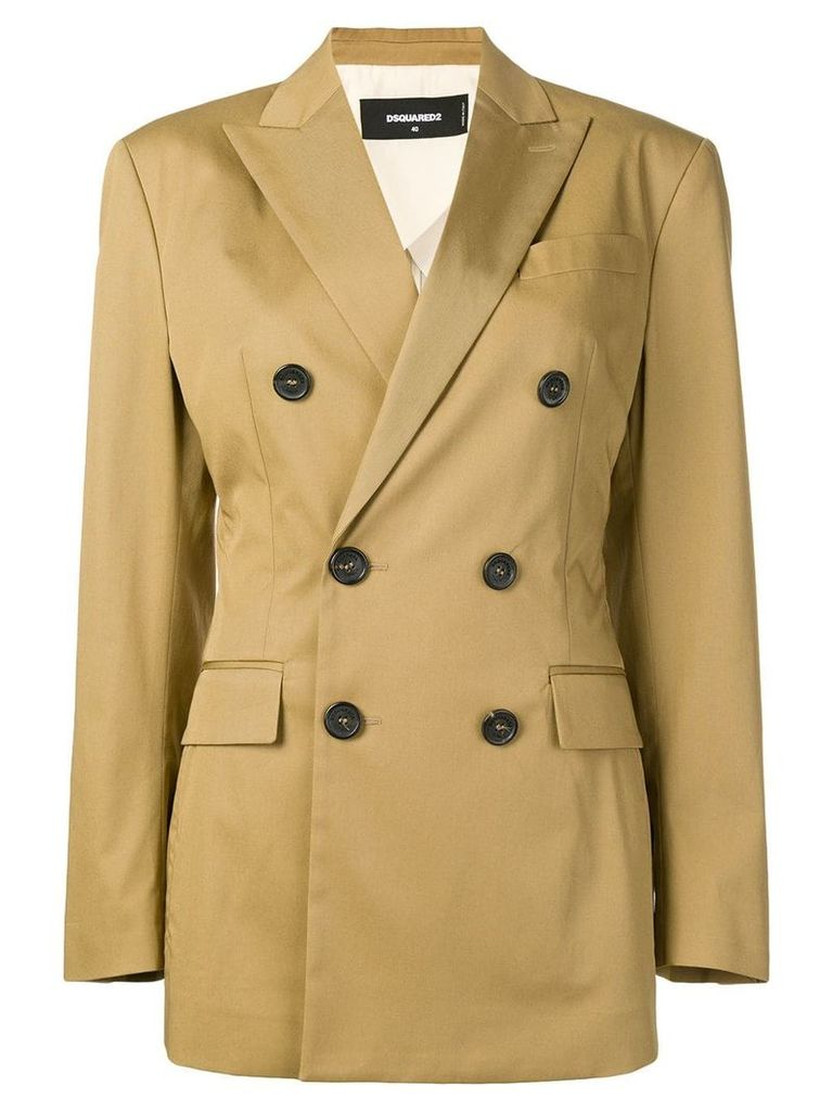 Dsquared2 double breasted blazer - Brown