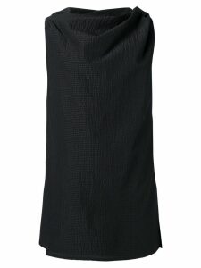 Rick Owens draped mini dress - Black