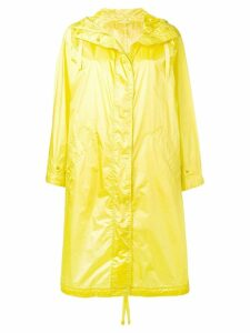 Aspesi long yellow raincoat