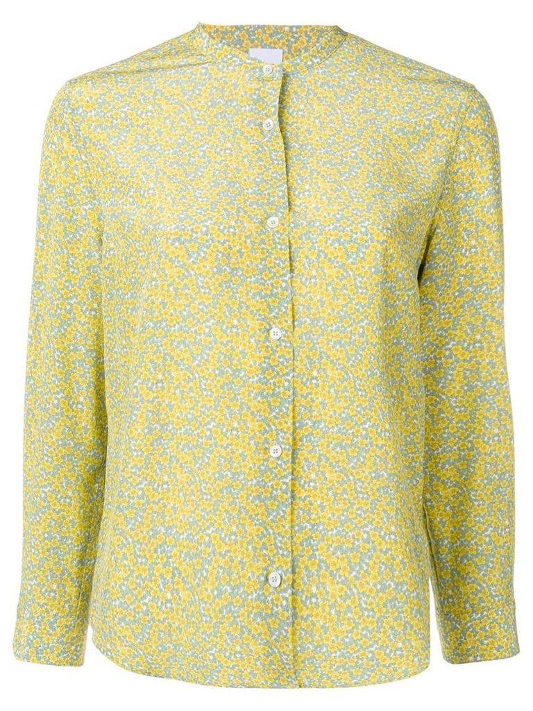 Aspesi floral print shirt - Yellow