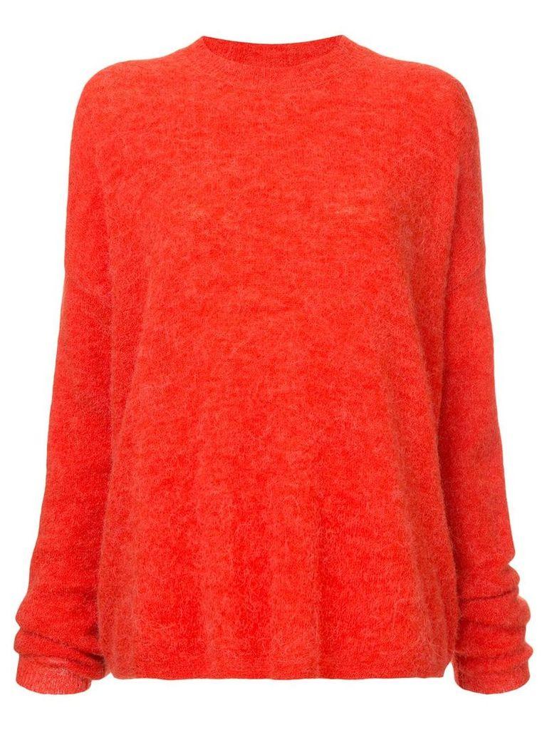 Nobody Denim Cherished oversized sweater - Red