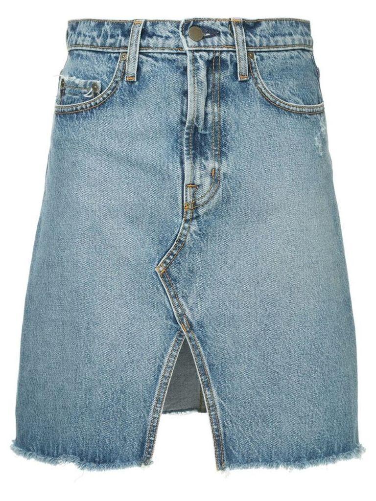 Nobody Denim Piper denim skirt - Blue
