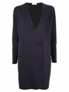 Ballsey contrast panel cardi-coat - Blue
