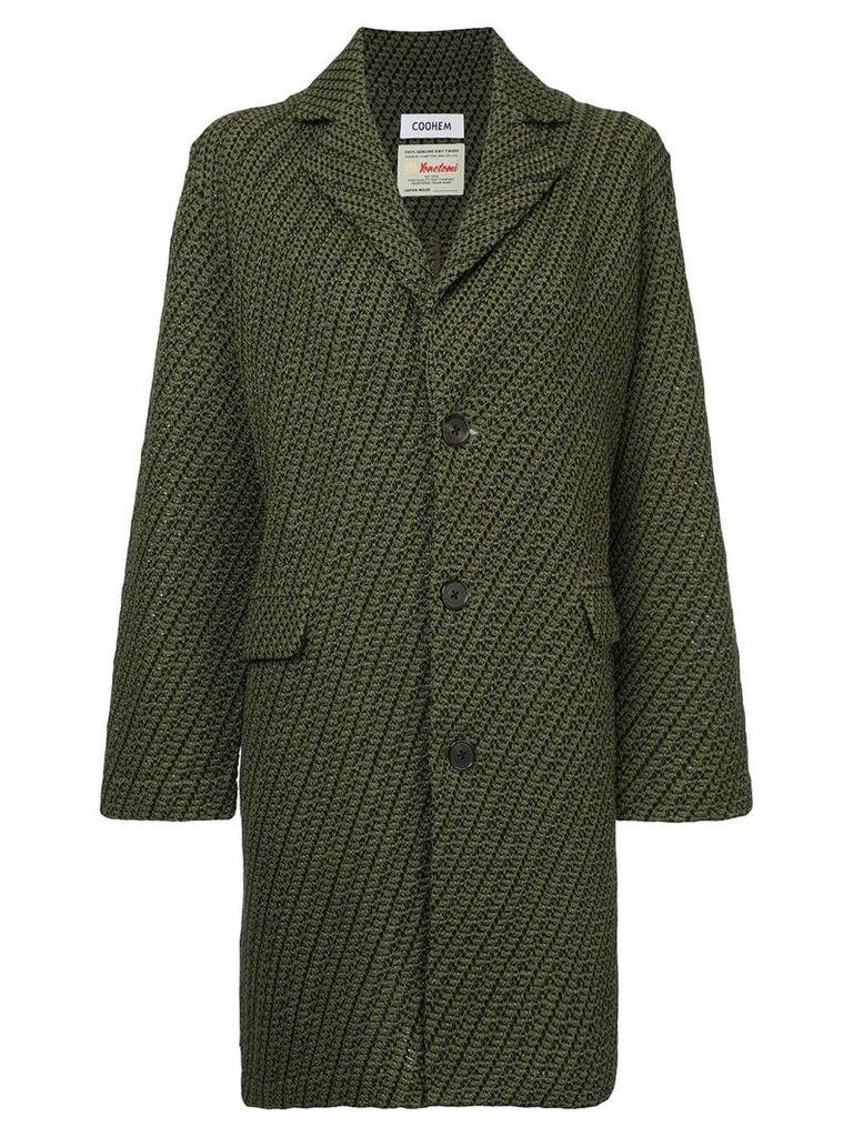 COOHEM twill coat - Green
