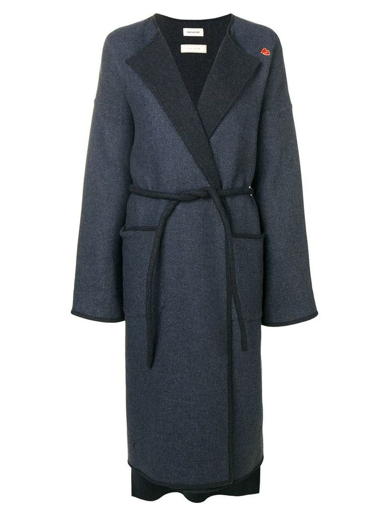 Zadig & Voltaire Mood trench coat - Blue