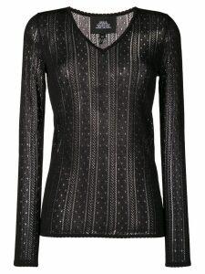 Marc Jacobs crochet top - Black