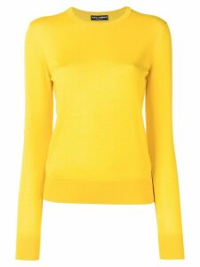 Dolce & Gabbana crewneck jumper - Yellow