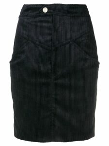 Isabel Marant cord skirt - Black