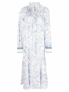 Tibi isa toile edwardian dress - Blue