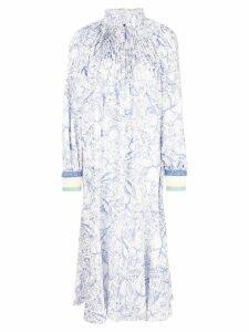 Tibi isa toile edwardian dress - Blue