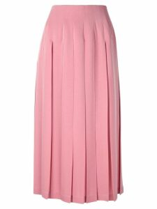 Le Ciel Bleu box pleated skirt - Pink