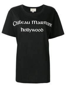 Gucci Chateau Marmont print T-shirt - Black