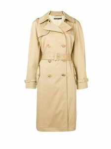 Ermanno Scervino double-breasted trench coat - Neutrals