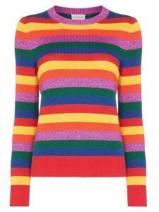 Moncler Rainbow stripe jumper - 490 MULTICOLOURED