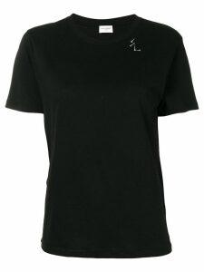 Saint Laurent nail detail printed T-shirt - Black