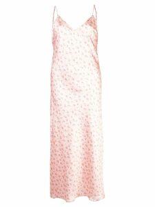 Jill Stuart floral print slip dress - Pink