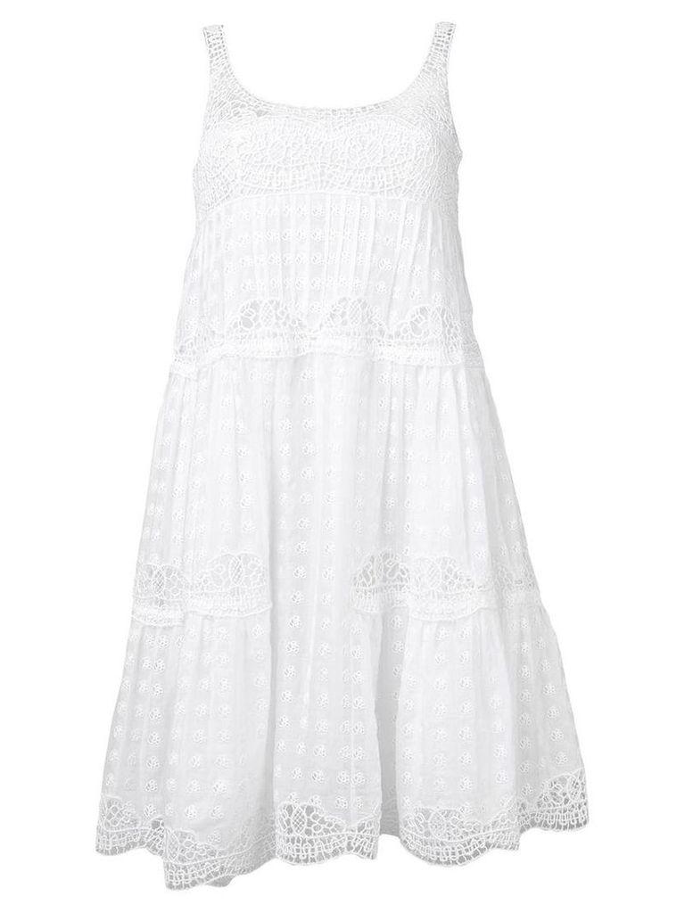 Ermanno Scervino crochet dress - White