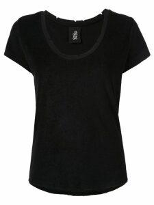 Thom Krom T-shirt with distressed details - Black