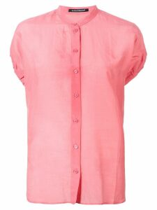 Luisa Cerano button-up blouse - Pink