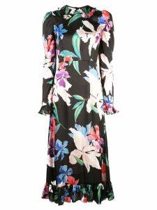 Jill Stuart floral print midi dress - Multicolour