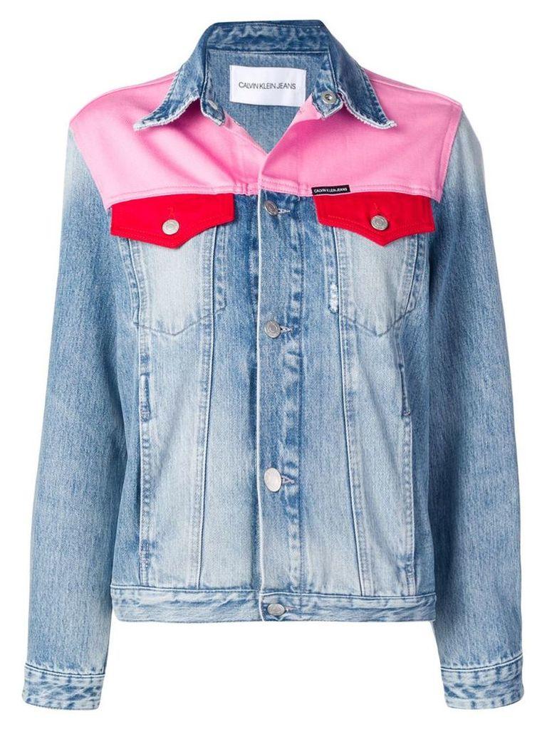 Calvin Klein Jeans Foundation Trucker jacket - Blue