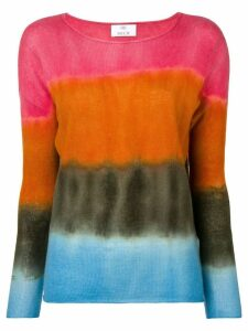 Allude colour block top - Pink