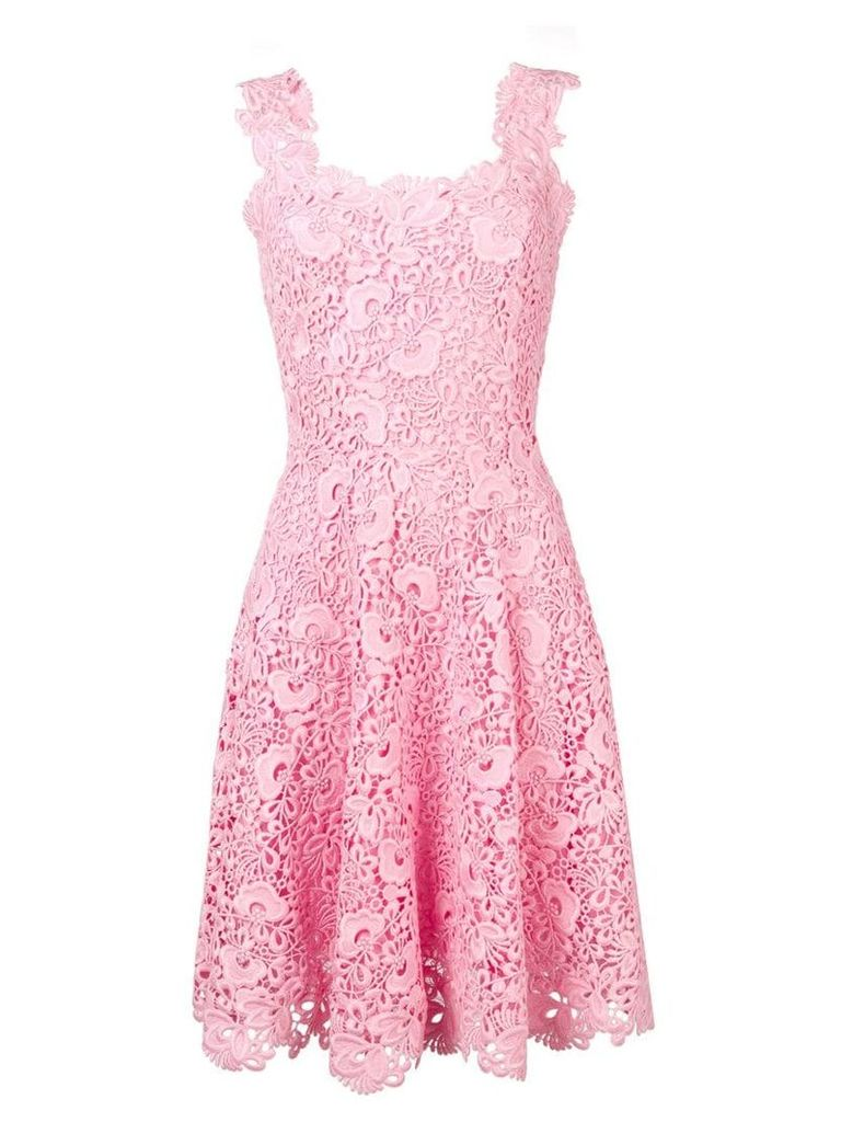 Ermanno Scervino sleeveless lace dress - Pink
