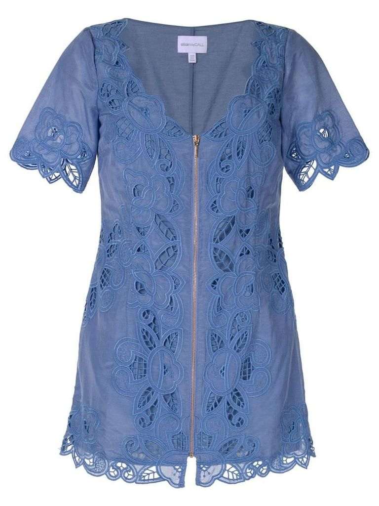 Alice Mccall 'Love Take Over' mini dress - Blue