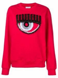 Chiara Ferragni Logomania sweatshirt - Red